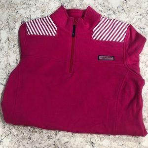 Vineyard Vines hot pink shepshirt